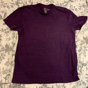 BDG purple crew neck tee shirt UO